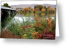 Prosser - Autumn Bridge Greeting Card
