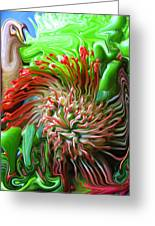 Protea Bouquet Greeting Card