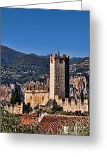 Protecting Malcesine Greeting Card