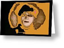 Proto Film Noir Conrad Veidt Cabinet Of Dr. Caligari 1919 Collage Screen Capture 2012 Greeting Card