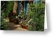 Provencal Alley Greeting Card