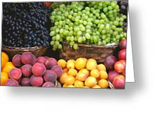 Provencal Fruit Greeting Card