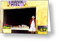 Provence Honey Shoppe Greeting Card