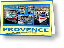 Provence Poster Greeting Card