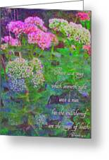 Proverbs 14 12 Greeting Card