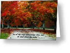 Proverbs 3 Greeting Card