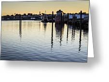 Providence Waterfront Greeting Card by Andrew Pacheco