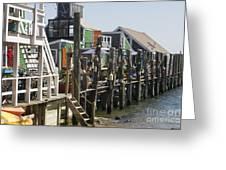 Provincetown Docks Greeting Card