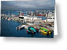 Provincetown Piers Greeting Card