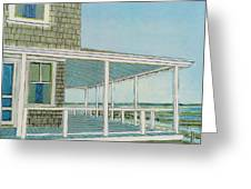 Provincetown Porch Greeting Card