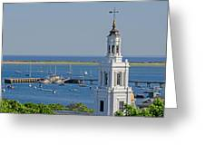 Provincetown Steeple Greeting Card