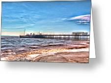 Ps Waverley At Penarth Pier 2 Greeting Card