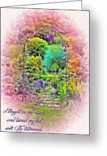 Psalm 119 59 Greeting Card