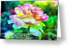 Psalm 119 77 Greeting Card
