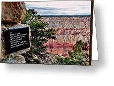 Psalm 68 - Grand Canyon Greeting Card