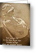 Psalm 71 9 Greeting Card