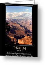 Psalm 90 Greeting Card