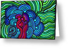 Psychedelia 5 Greeting Card