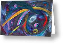 Psychedelic Winds Greeting Card