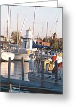 Pt. Clinton Yacht Club Greeting Card