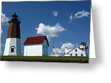 Pt. Judith Lighthouse Greeting Card