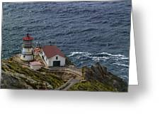 Pt Reyes Lighthouse Greeting Card