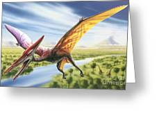 Pterodactyl Greeting Card