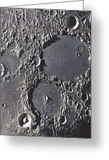 Ptolemaeus And Alphonsus Craters Greeting Card