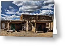 Pueblo 1 Greeting Card