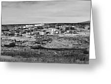 Pueblo Landscape Greeting Card