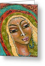 Pueblo Priestess Greeting Card