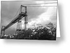 Puente Colgante Greeting Card