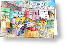 Puerto De Sardina 01 Greeting Card
