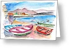 Puerto De Sardina 03 Greeting Card