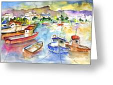 Puerto Mogan 01 Greeting Card