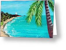 Puerto Plata Beach  Greeting Card