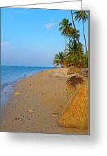 Puerto Rico Beach Greeting Card