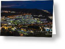 Puerto Rico By Night  Greeting Card