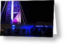Puerto Vallarta Pier Greeting Card