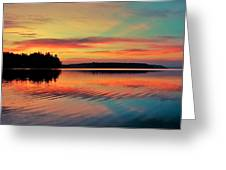 Puget Palette Greeting Card