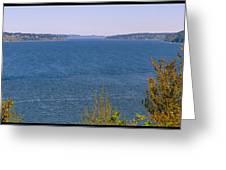 Puget Sound Panoramic Greeting Card
