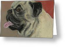 Pugster Greeting Card