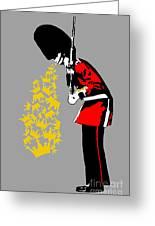 Puke Royal Guard Digital Version Greeting Card