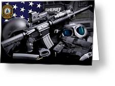 Pulaski Sheriff Tactical Greeting Card