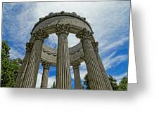 Pulgas Water Temple Greeting Card