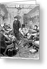 Pullman Car, 1876 Greeting Card