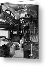 Pullman Car El Fleda Greeting Card