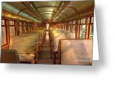 Pullman Porter Train Car Greeting Card