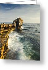 Pulpit Rock In Dorset Greeting Card