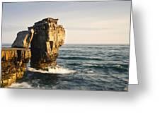 Pulpit Rock Jurassic Coast Greeting Card